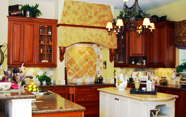 Beau The Appealing Excellent Tuscan Themed Kitchen Decor Picture