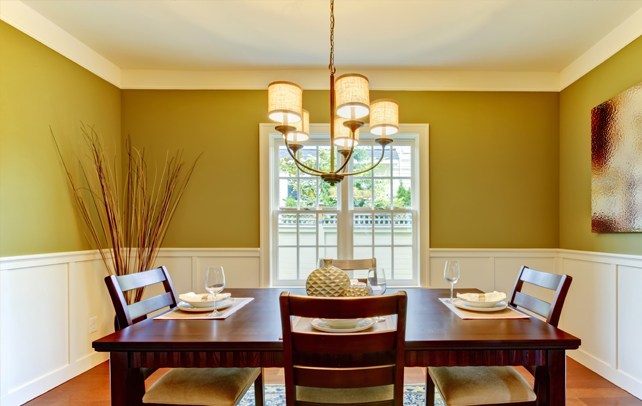 Dining room colors ideas for Dining room kitchen paint colors